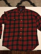 Mens Gap Plaid Shirt Xl - $8.59