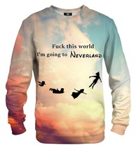 Going to Neverland Printed Sweatshirt | Unisex | XS-2XL | Mr.Gugu & Miss Go