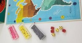 BG) RISK 1968 Parker Brothers Continental Board Game Vintage #44 - $17.81