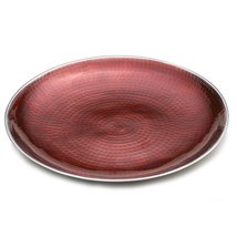 Towle Hammersmith Jewel Round Platter, 13-Inch, Ruby  - $59.99