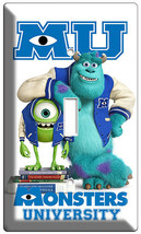 Monsters University Mike Sully Single Light Switch Cover Kids Bedroom Wall Art - $8.09