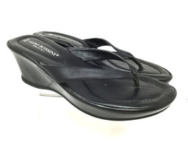 Flip Performance Shoes Sandals Black Leather 8M Aldo Women's Size Flop Rossini wqFYxgSp