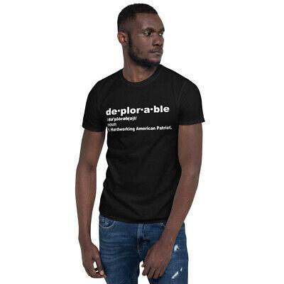 Deplorable Funny Trump Maga  t-shirt Short-Sleeve Unisex T-Shirt