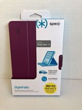 SPECK case Folio for iPad mini 4 Protective shell Purple - $10.40