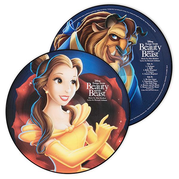Bbjrpq beauty and beast vinyl picture disc