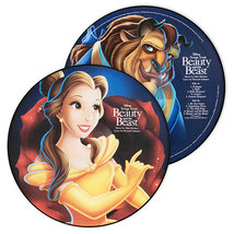 Beauty And The Beast Animated Movie Vinyl Record Soundtrack 1xLP Belle D... - £63.14 GBP
