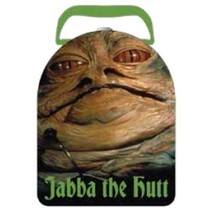 Star Wars Jabba the Hutt Photo Image Arch Style Carry All Tin Lunchbox, ... - $13.50