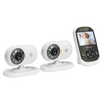 Motorola Camera Baby Monitor w/ LCD Screen & 2 Cameras Night Vision Wire... - $140.64