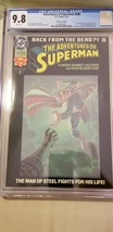 Adventures of Superman 500 CGC 9.8 1280201001 6/93 Collector's Ed origin... - $150.00