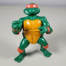 Playmates Toys 1988 Teenage Mutant Ninja Turtle Michelangelo Action Figure - $9.99