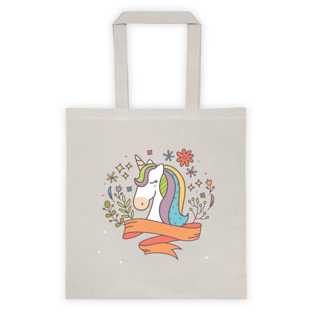 Noble Unicorn Cotton Canvas Bag