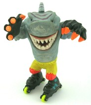 Vtg Street Sharks Streex Tiger Figure Street Wise Roller Blade Yellow Pants 1994 - $29.05