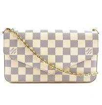 #31412 Louis Vuitton Pochette Felicie with Inserts Shoulder Chain Flap C... - £837.37 GBP