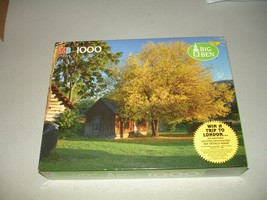 "Big Ben MB 1000pc Puzzle Cashmere, WA Brand New 20-1/8"" x 26-3/16""  - $15.83"