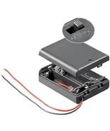 3x AA (Mignon) Batteriehalter lose Kabelenden wasserabweisend Gehäuse + ... - $4.94