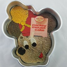 Wilton Mickey Mouse Hail The King! Band Leader Cake Pan 515-302 1976 Retired - $16.70