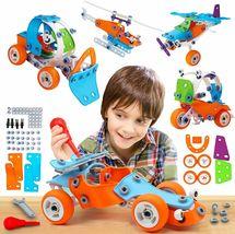 STEM Toys for Kids, 5-in-1 Building Project Set image 5