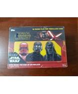 2019 Topps Star Wars The Rise of Skywalker Factory Sealed Blaster Box Me... - $29.65