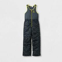 NWT Batman Size Medium 8/10 Skye Snowsuit Snow Pants Bibs Black Overalls Fleece - $19.79