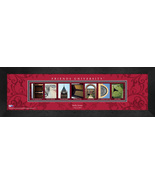Personalized Friends University Campus Letter Art Framed Print - $39.95