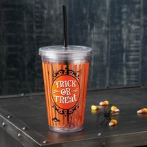 Hallmark Trick or Treat Double Wall Tumbler - $13.10