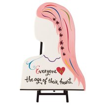 Hallmark Ceramic Lady Plaque with Stand Plaques Birthday - €19,34 EUR