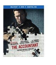 The Accountant (2016) (Blu-ray + DVD + Digital HD Ultraviolet)