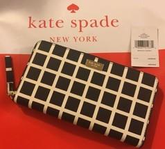 NWT Kate Spade Neda Laurel Way Printed Zip Wallet, WLRU2853 - $76.41
