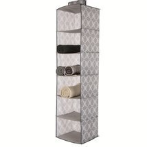 Glitzhome Foldable Oxford Hanging Closet Storag... - $15.52