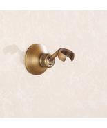 Antique Brass Handheld Shower Head Base Holder Wall Mounted - $15.44