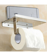 Creative Style Wall Mounted Toilet Paper Holder Brass and Golden Finish - $21.22