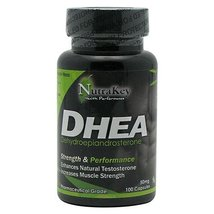NutraKey Dhea Capsules, 50 mg, 100 Count - $17.07