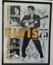 Sierra Leone ELVIS PRESLEY 75 Birthday Stamp Sheet - $15.95
