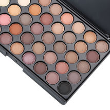 40 Color Cosmetic Matte Eyeshadow Cream Eye Shadow Makeup Palette Shimmer Set - $9.98