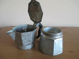 VTG ALUMINUM MORENITA ESPRESSO COFFEE MAKER, MADE IN ITALY image 5