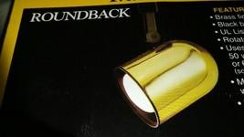 Cooper Lighting. Emerald model P5022 PB brass track light fixtures. - $13.94