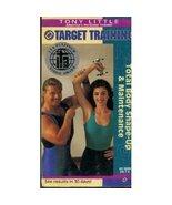Tony Little - Target Training - Total Body Shape-Up & Maintenance [VHS] ... - $6.50