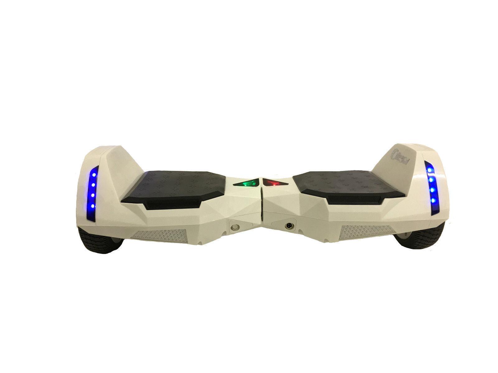 "MR6 Bluetooth Batman White Hoverboard 6.5"" - UL2272 certified"