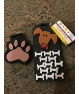 Two New Rubber Stampede Dog Paw and Bones Stampers  - $14.00