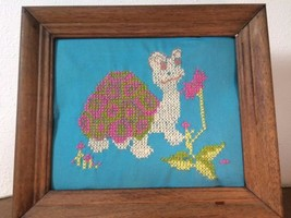 VINTAGE EMBROIDERY ART avon kit cross stitch MY... - $18.30