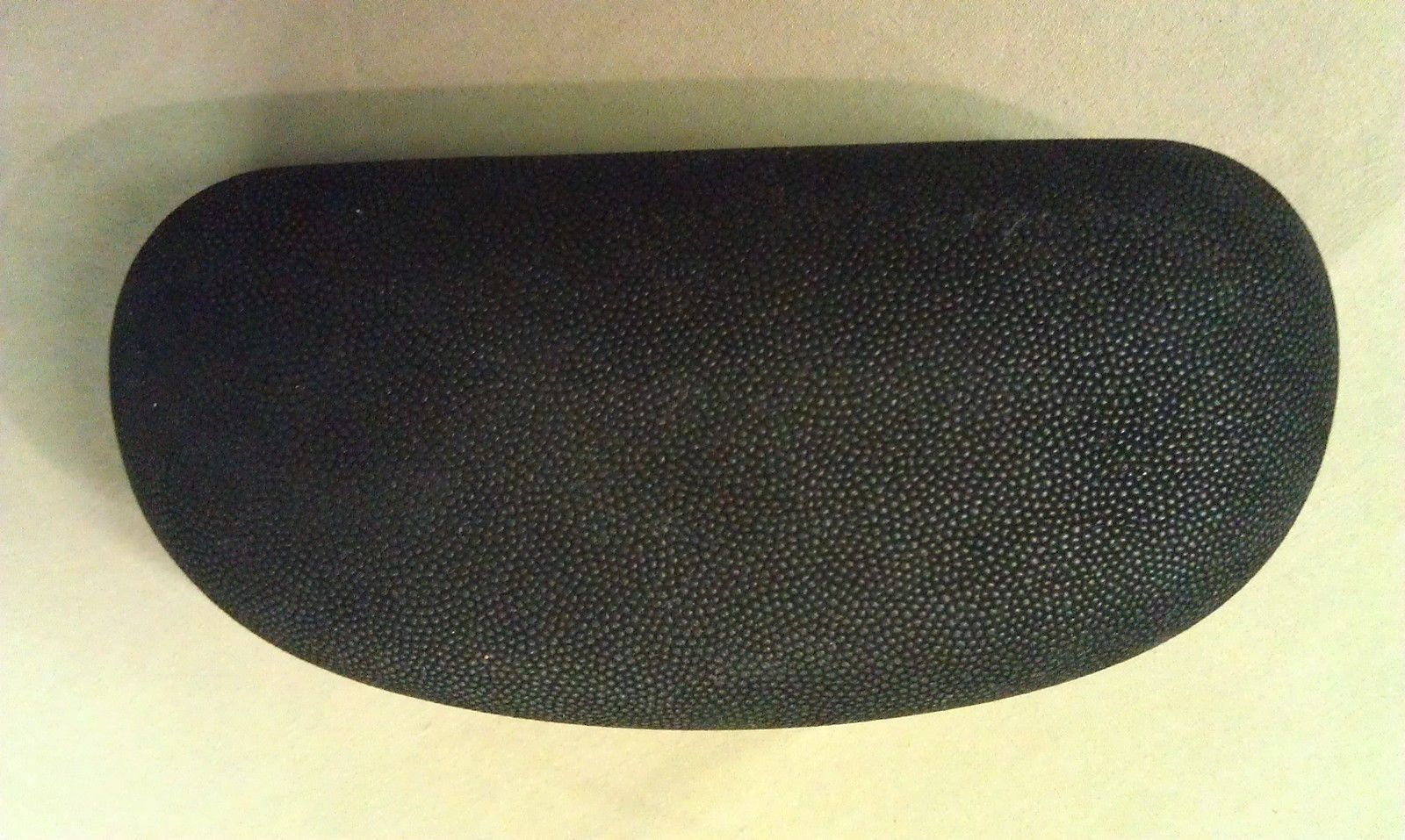 8P28  SEE Italy Over Sized/Large Black Suede? Eyeglass Case  EXC COND !!