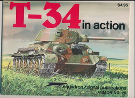 T-34 In Action Armor No. 20 - $14.75
