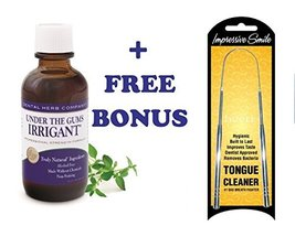 Dental Herb Company Under the Gums Irrigant + FREE Tongue Cleaner - $41.14