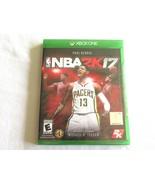 Paul George NBA2K17 - XBOX ONE - BRAND NEW SEALED XBOXone NBA 2K 17 Rated E - $12.99