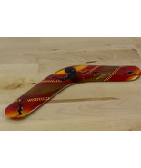 Vintage Australian Bingra Boomerang Hand Crafted & Decorated 30cm - $19.58