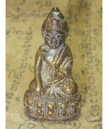 Antique Holy Blessed Pra-Kring-Boran Wat Sutas Magic Thai Buddha Amulet #Usa041 - $29.99