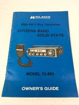 MIDLAND 13-983 2-Way Transceiver Radio SSB/AM Citizens Band Owner's Guid... - $19.99