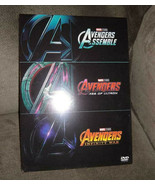 Avengers 1-3 Trilogy (DVD Set) 3 Movie Collection [Ultron, Infinity War]... - $14.97