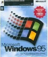 Microsoft Windows 95 [CD-ROM] - $24.74