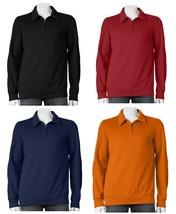 Croft and Barrow NEW Half Zip Mockneck Fleece Pullover Top Mens Big & Ta... - $24.00